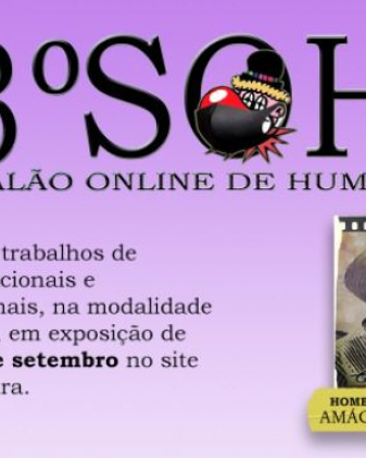 3º Salão online de humor