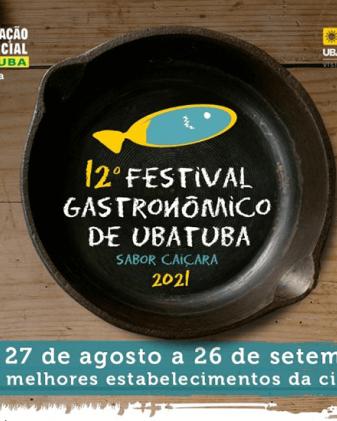12º Festival Gastronômico de Ubatuba - Sabor Caiçara