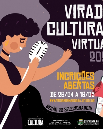 Virada Cultural Virtual 2021 - Inscrições abertas