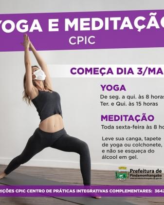 Yoga e Meditação - CPIC