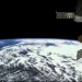 ISS atravessando o Brasil de ponta à ponta